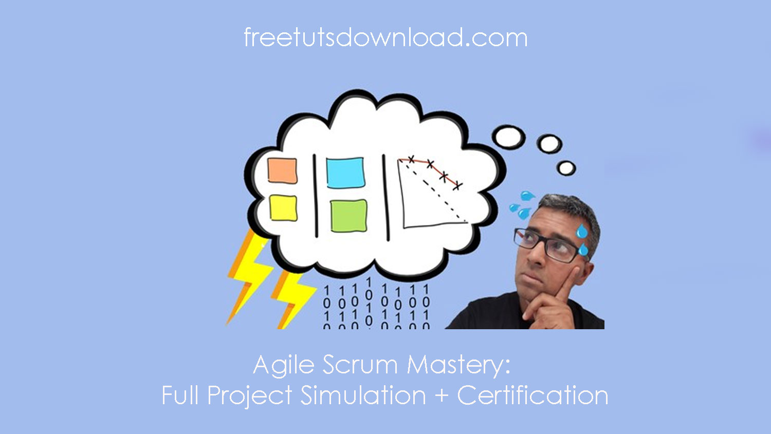 Agile Scrum Mastery: Full Project Simulation + Certification free download