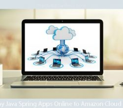 Deploy Java Spring Apps Online to Amazon Cloud (AWS)