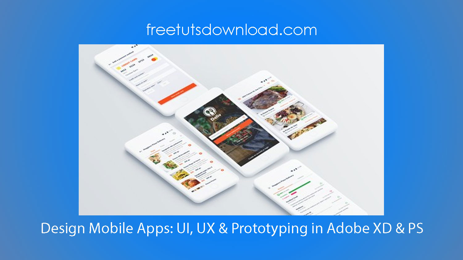 Design Mobile Apps: UI, UX & Prototyping in Adobe XD & PS