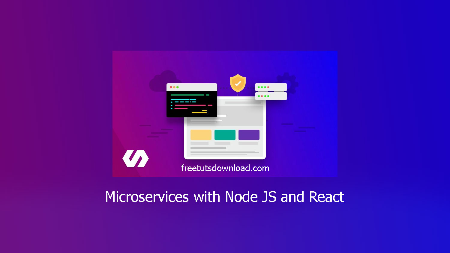 Microservices with Node JS and React free download