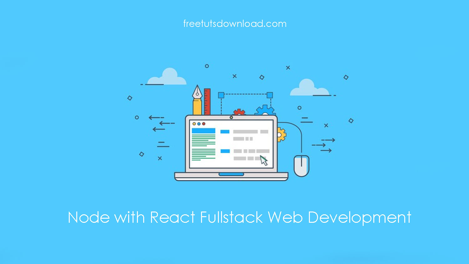 Node with React Fullstack Web Development free download