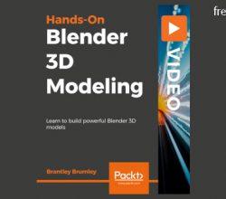 Packtpub - Hands-On Blender 3D Modeling