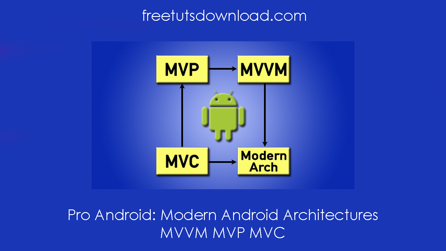 Pro Android: Modern Android Architectures - MVVM MVP MVC free download