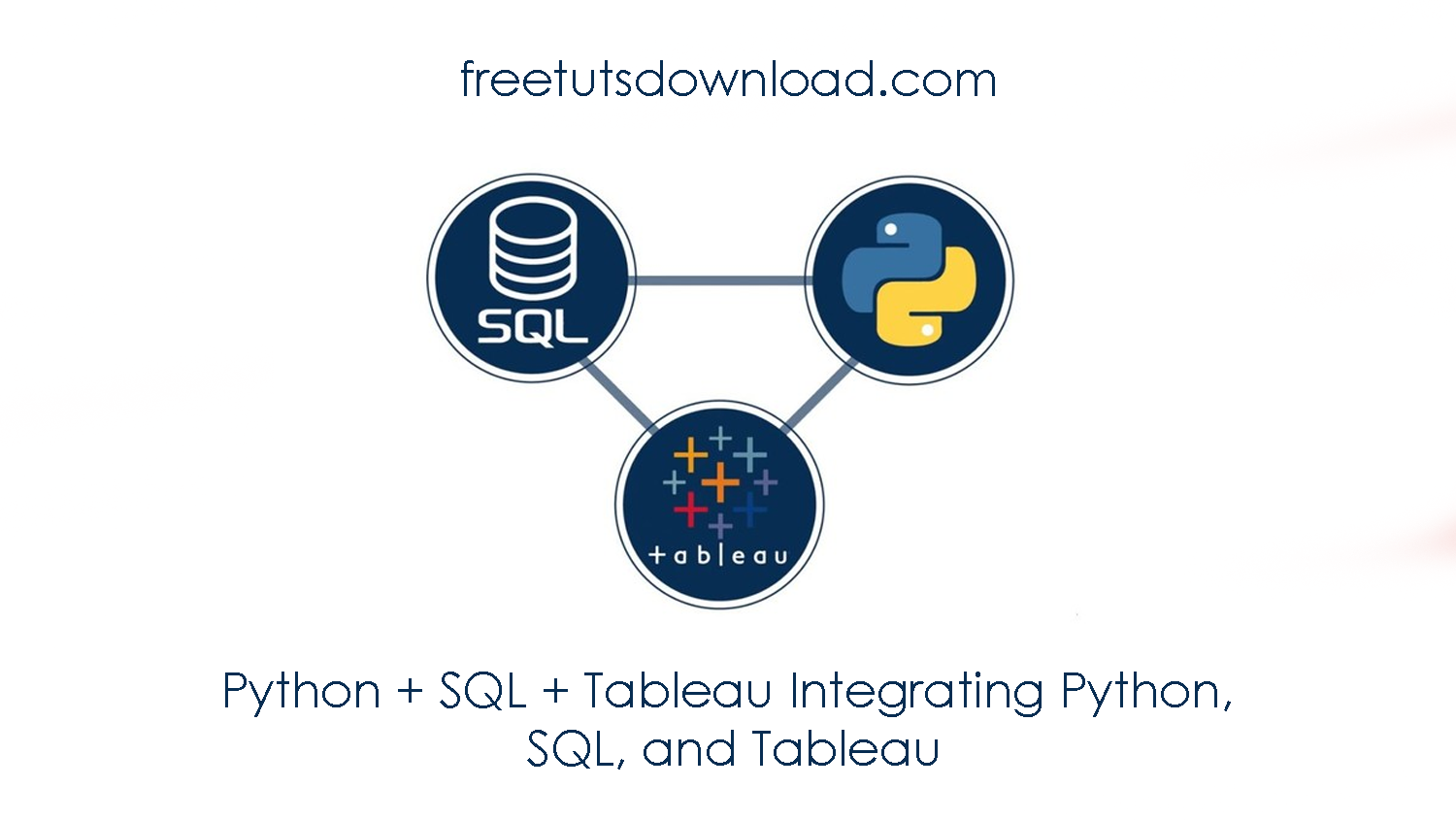 Python + SQL + Tableau Integrating Python, SQL, and Tableau free download