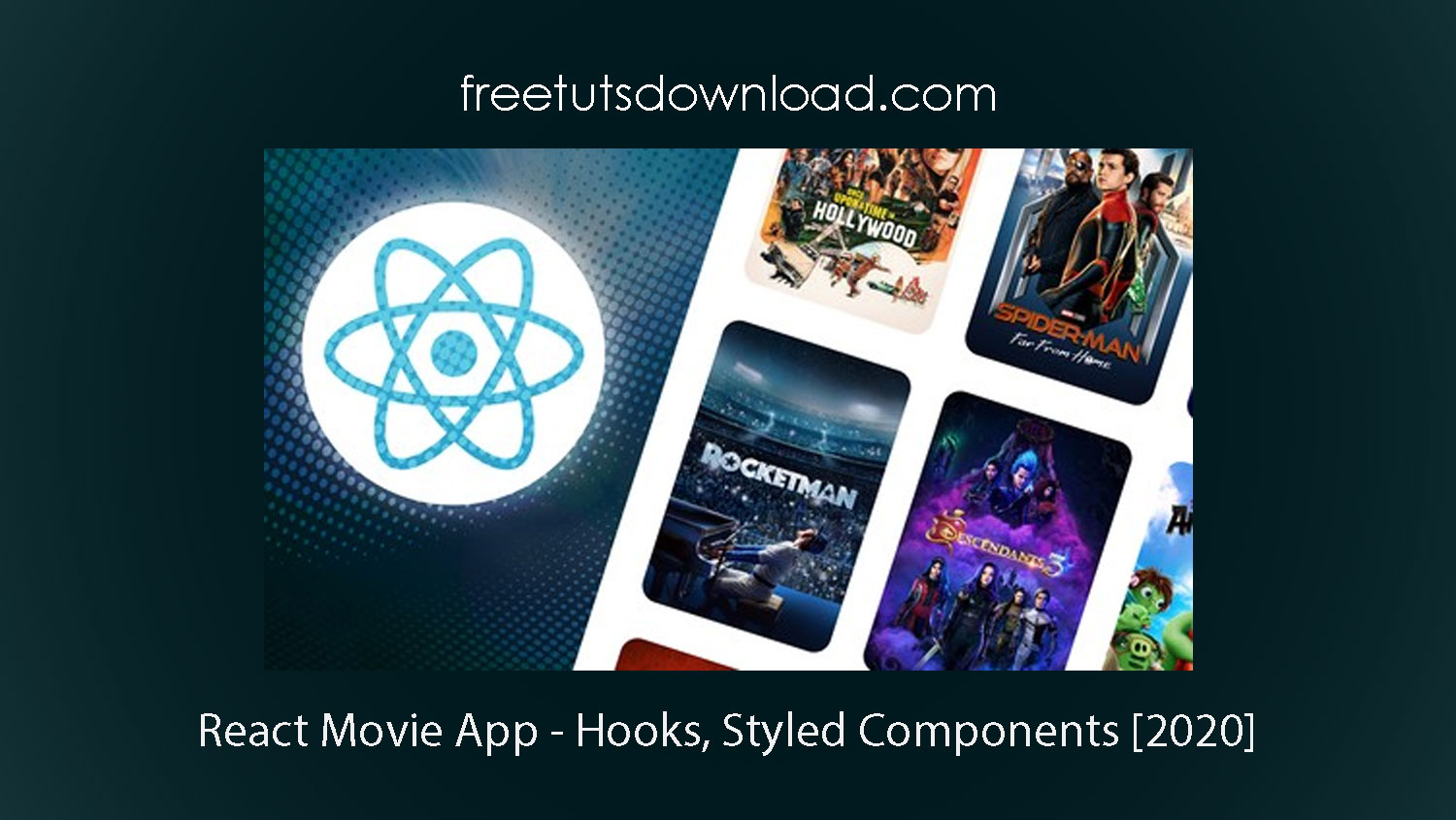 React Movie App - Hooks, Styled Components [2020]