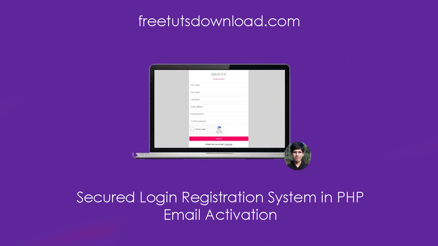Secured Login Registration System in PHP - Email Activation free download