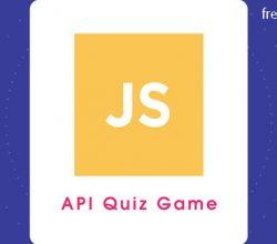 API Quiz Game - JavaScript Project using Google Sheet Data Free Download