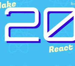 Make 20 React Apps - 20reactapps.com Free Download