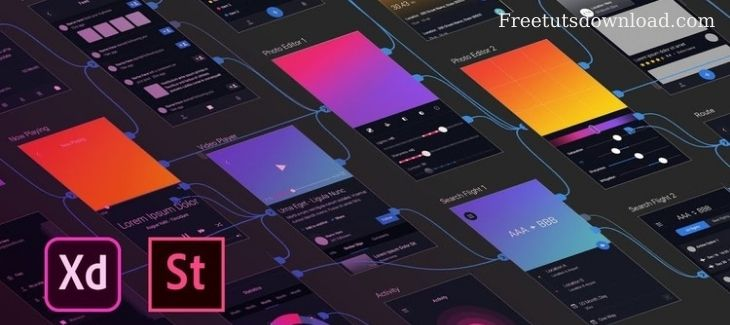 Adobe XD - UI & UX Design with 14 real world project 2020 tut