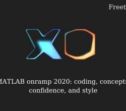 MATLAB onramp 2020: coding, concepts, confidence, and style