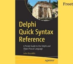 Delphi Quick Syntax Reference Book