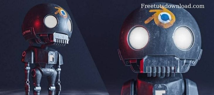 Blender: how to create the tiny k-2SO STAR WAR Robot