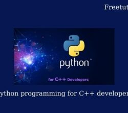 Python programming for C++ developers