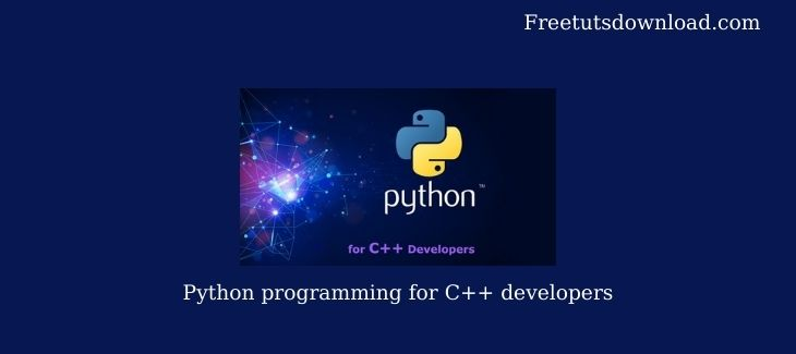 Python programming for C++ developers