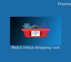 React redux shopping cart