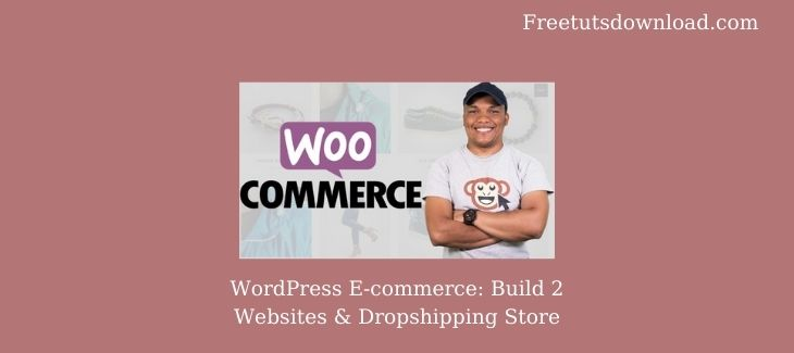 WordPress E-commerce: Build 2 Websites & Dropshipping Store Free Download