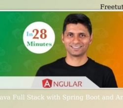 go Java Full Stack with Spring Boot and Angular