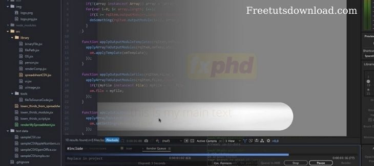 AFX304 Advanced Scripting for After Effects Part 2