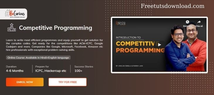 Coding Ninjas - Competitive Programming