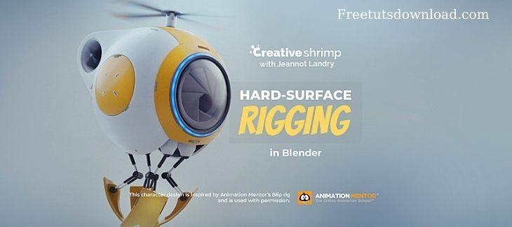 Creative Shrimp – Hard Surface Rigging In Blender