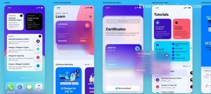 Designcode – Build a SwiftUI app for iOS 14