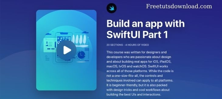 Designcode – Build an app with SwiftUI Part 1