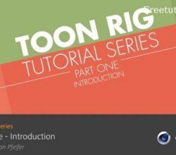 Toon Rig Series for C4D R23 by Sebastian Pfeifer