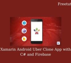 Xamarin Android Uber Clone App with C# and Firebase