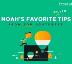 Book Noahs Favorite Stolen Tips from Top YouTubers