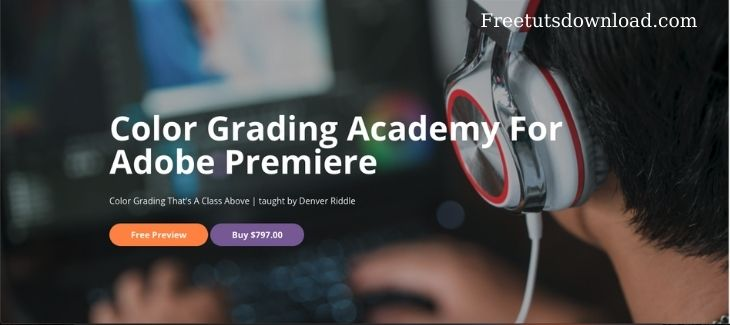 Color Grading Academy For Adobe Premiere free download