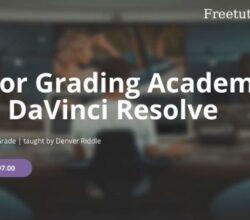 Color Grading Academy For DaVinci Resolve
