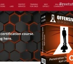 PEN-200 Official OSCP Certification Course – With Kali Linux