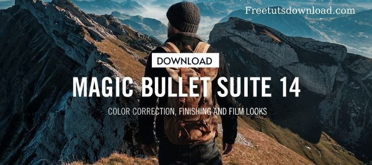 Red Giant Bullet Suite 14 Free Download – Color correction