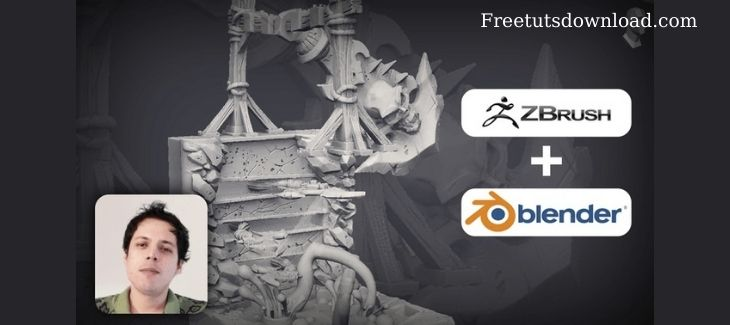 Sculpting Props for 3D Printing Using zBrush 2020 And Blender