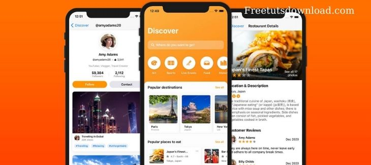 letsbuildthatapp - SwiftUI Mastery Travel Discovery free download
