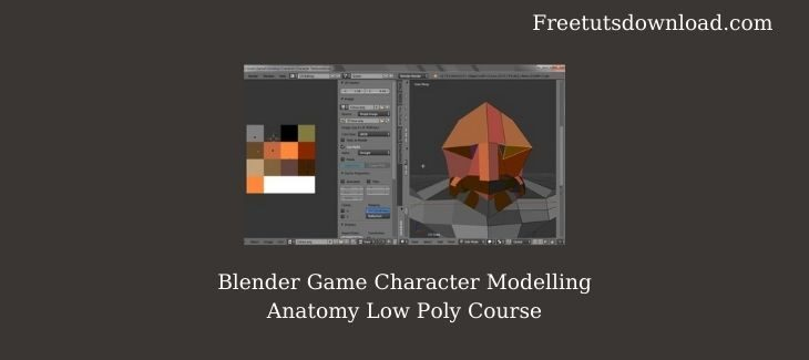 Blender Game Character Modelling Anatomy Low Poly Course
