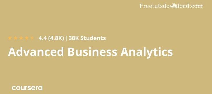 Coursera - Advanced Business Analytics Specialization
