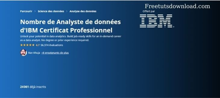 Coursera - IBM Data Analyst Professional Certificate