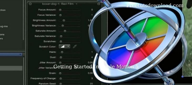 Getting Started In Apple Motion 5