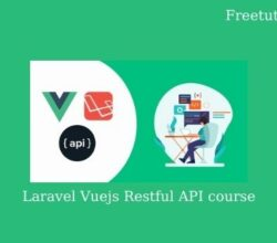 Laravel Vuejs Restful API course