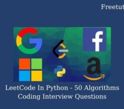 LeetCode In Python - 50 Algorithms Coding Interview Questions