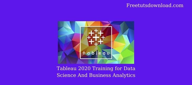 Tableau 2020 Training for Data Science And Business Analytics