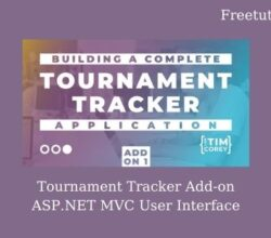 Tournament Tracker Add-on ASP.NET MVC User Interface