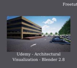 Udemy - Architectural Visualization - Blender 2.8