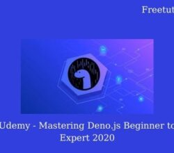 Udemy - Mastering Deno.js Beginner to Expert 2020