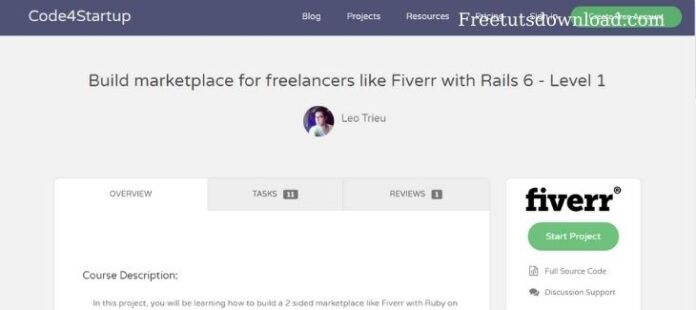 Build marketplace for freelancers like Fiverr with Rails 6