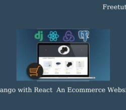 Django with React An Ecommerce Website
