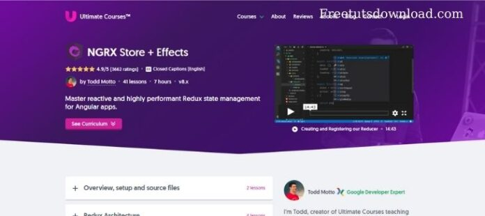 ultimatecourses - NGRX Store + Effects