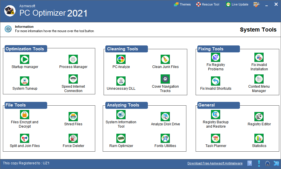 Asmwsoft PC Optimizer 2021