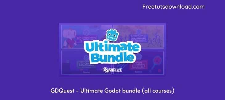 GDQuest - Ultimate Godot bundle (all courses)